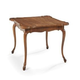 Provincial Louis XV Walnut Center Table