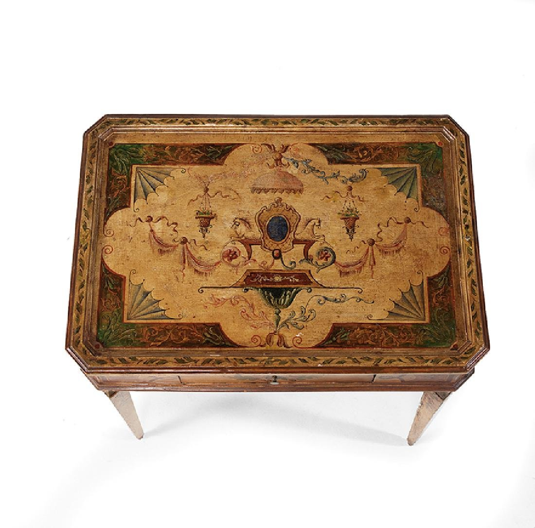 Italian Neoclassical Polychrome Occasional Table - 2