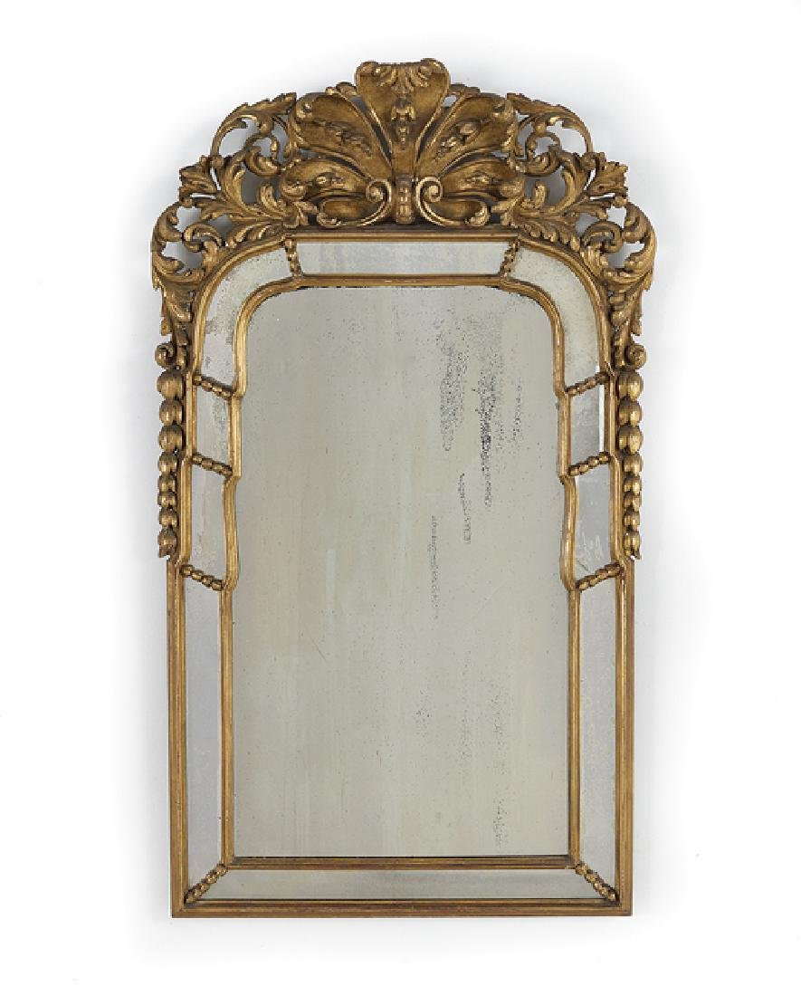Italian Giltwood Mirror in the Neoclassical Taste