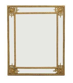 Unusual Giltwood Mirror of Baroque Inspiration