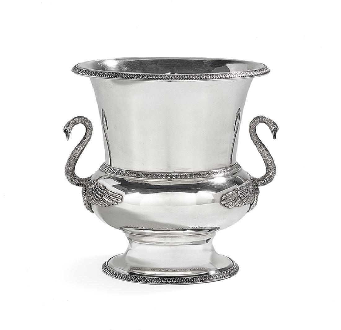 Buccellati Silver Empire-Style Wine Cooler