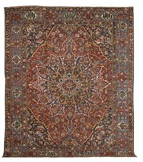 Semi-Antique Bakhtiari Carpet