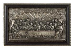 Continental Silverplate Relief of the Last Supper