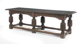 English Oak Refectory Table
