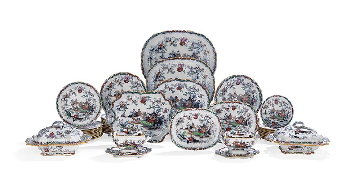 Ashworth Bros. Ironstone Partial Dinner Service