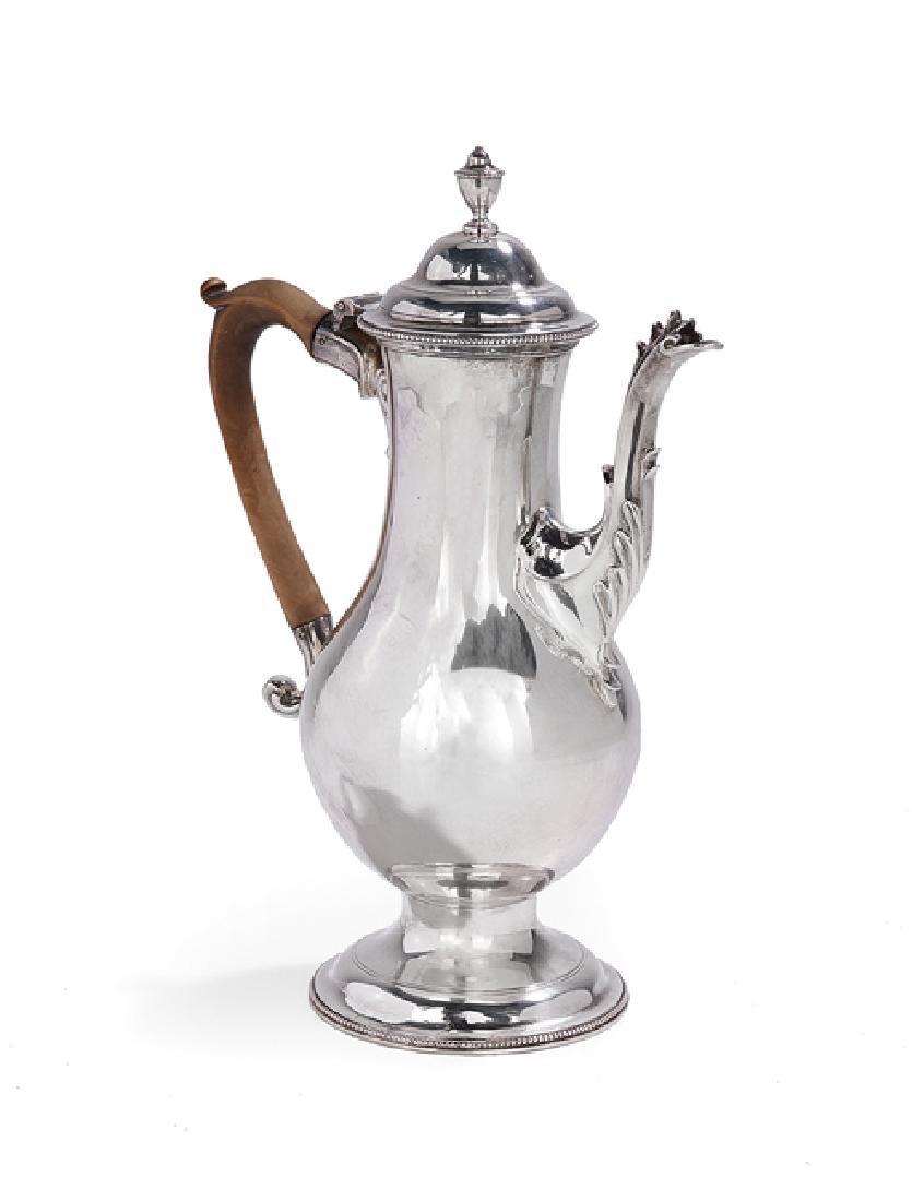 Hester Bateman (1708-1794) Silver Coffeepot