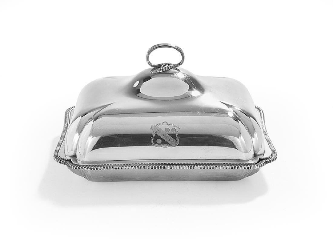 Paul Storr (1771-1844) Silver Entree Dish