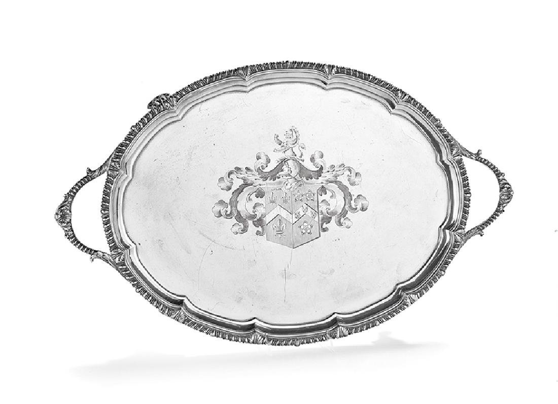Late George III Sterling Silver Tray