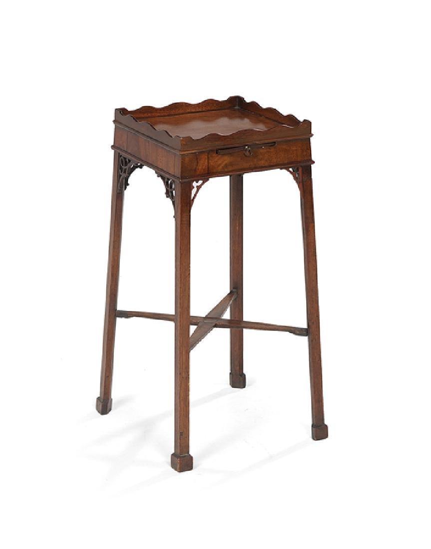 George III-Style Mahogany Kettle Stand