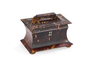 Regency Pagoda-Form Tea Caddy