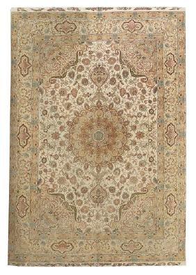 Tabriz Silk Carpet