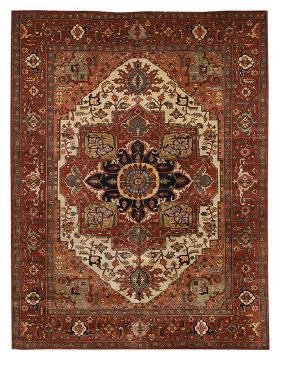 Fine Agra Serapi Carpet