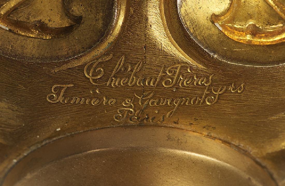 French Fin-de-Siecle Gilt-Bronze Chandelier - 2