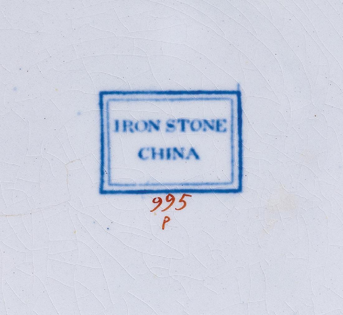 """John Ridgway """"Iron Stone China"""" Dinner Service - 3"""