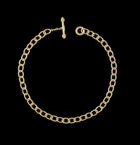 Elizabeth Locke 18 Kt. Gold Necklace