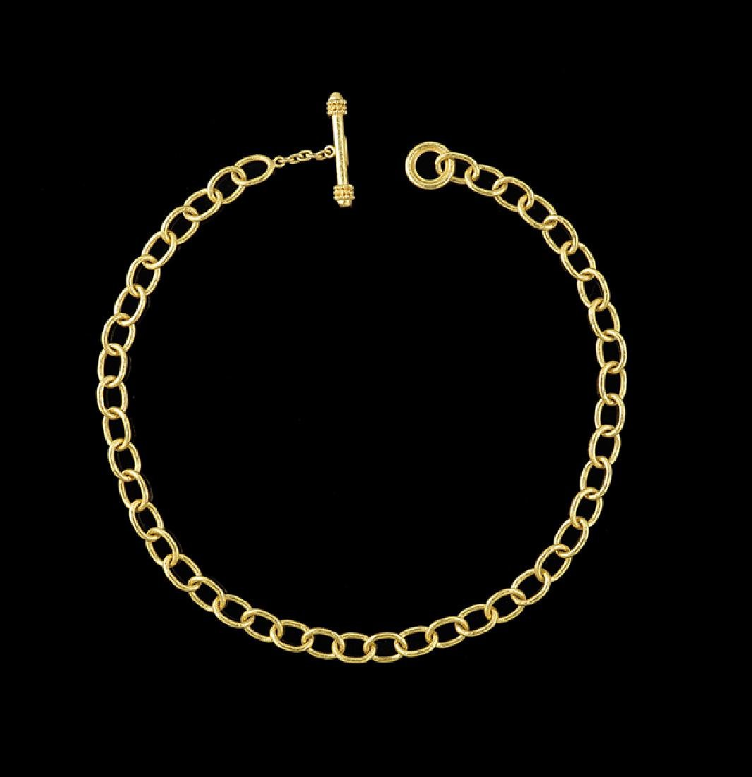 Elizabeth Locke 18 Kt. Gold Necklace