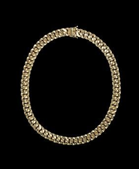 Italian 14 Kt. Gold Convertible Necklace/Bracelet