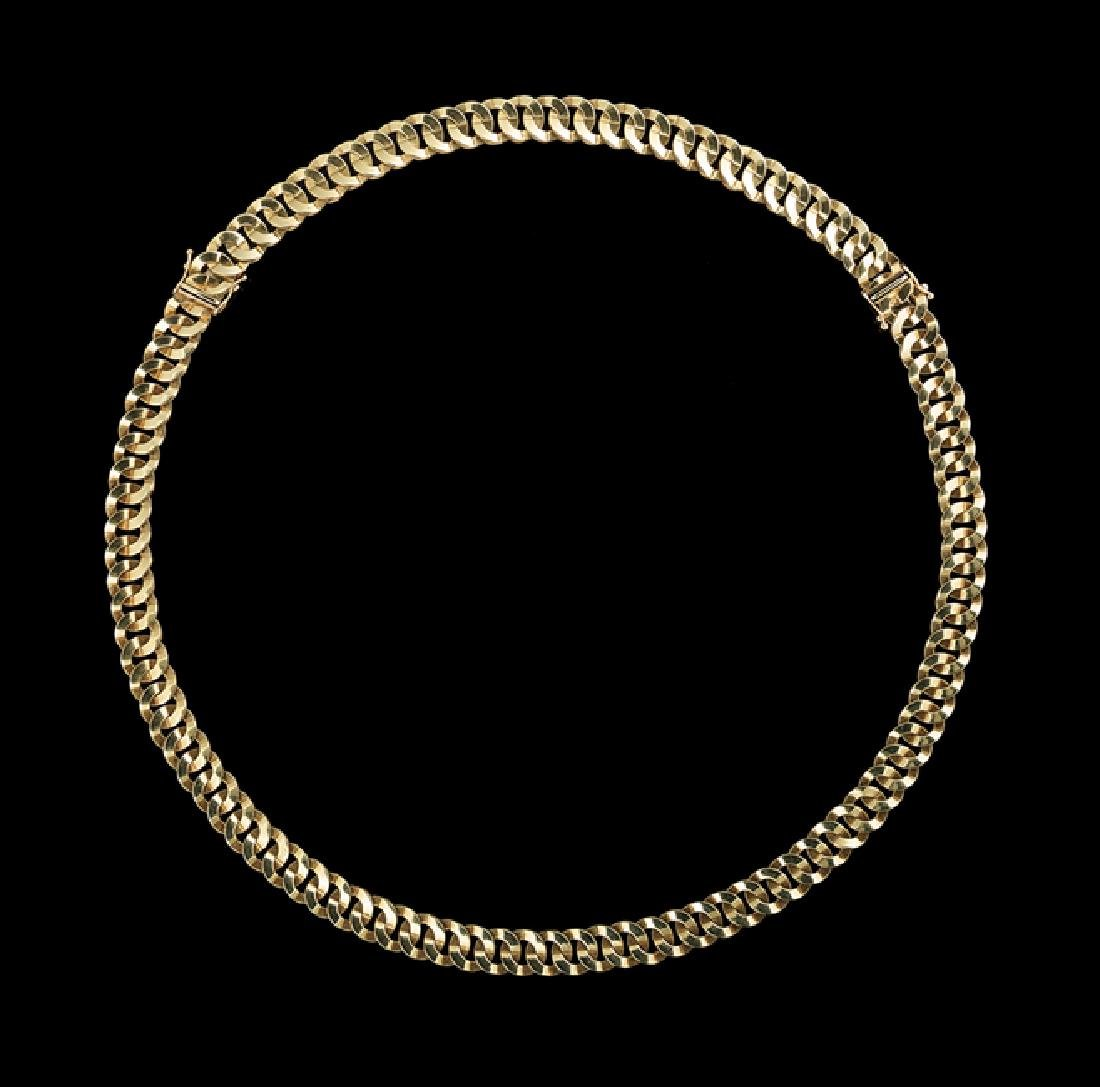Italian 14 Kt. Gold Convertible Necklace/Bracelet - 2