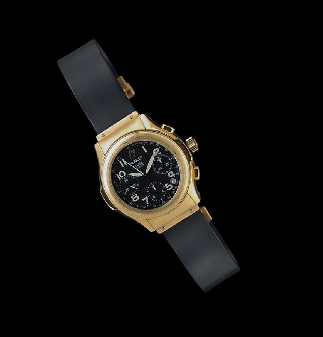 Gentleman's Hublot 18 Kt. Gold Chronograph Watch