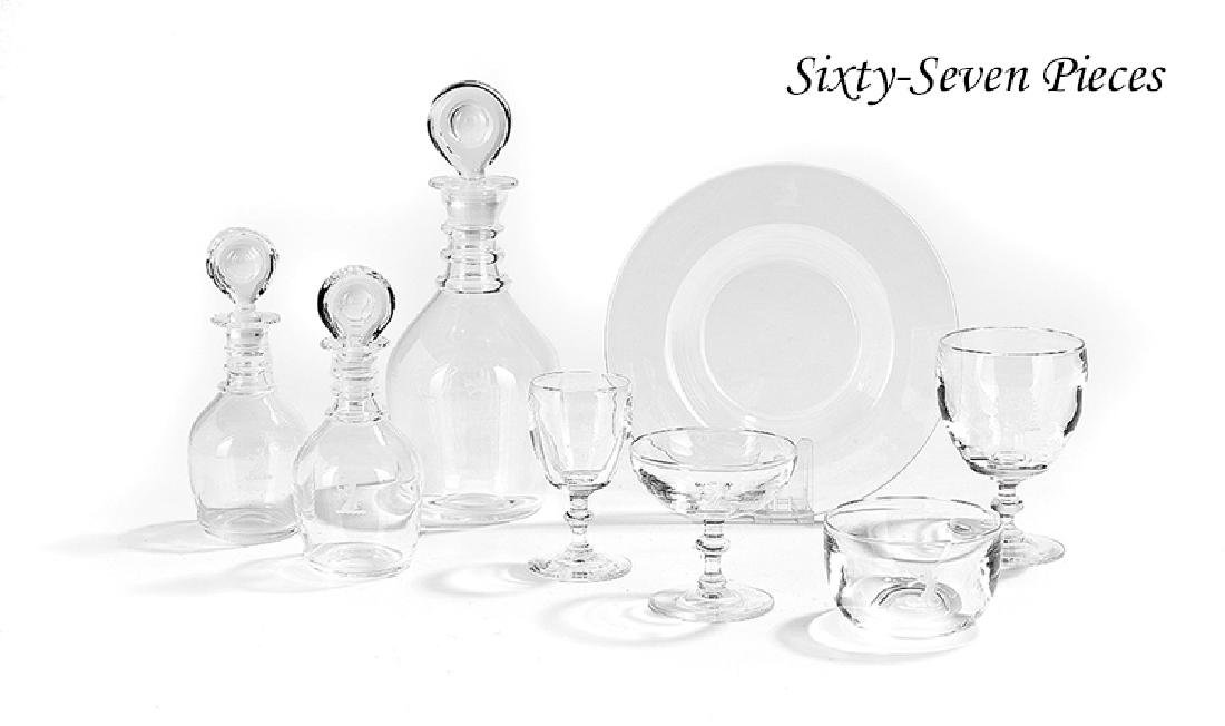 Set of Steuben Table Glass, Corning, New York