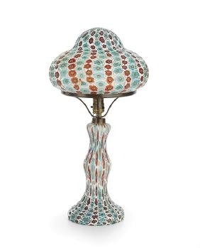 Millefiori Murano Glass Table Lamp