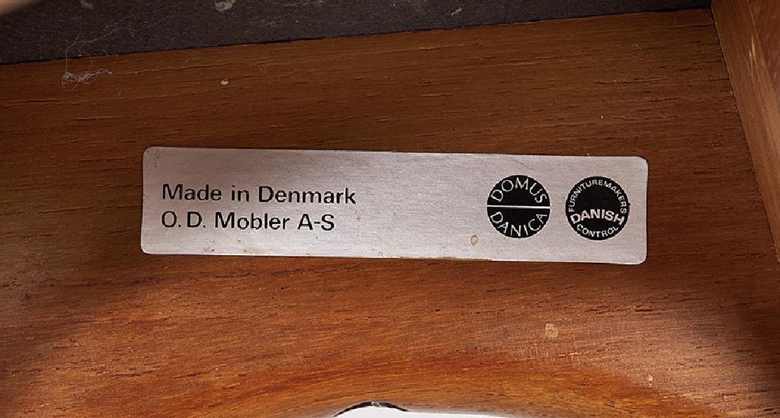 Pair of Danish Modern Teak Stools - 2