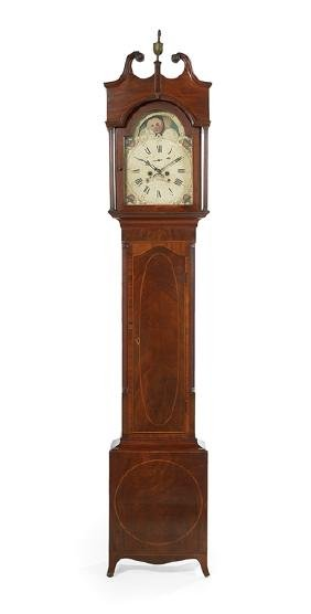 Rare Fredericksburg, Virginia, Tall Case Clock