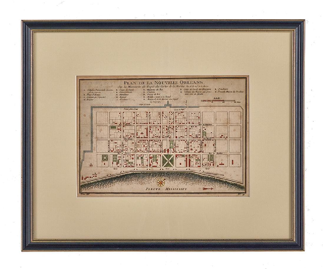 """J.-N. Bellin, """"Plan de la Nouvelle Orleans"""""""