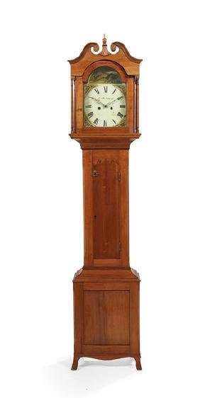 American Cherry Tall Case Clock