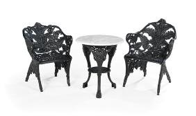 Three Pieces of American Garden Furniture