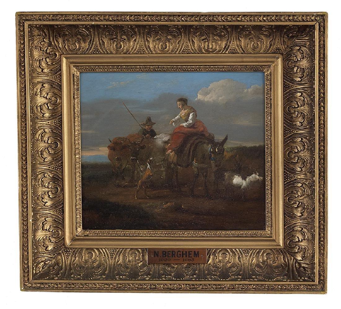 Follower of Nicolaes Berchem, (Dutch, 1620-1683)