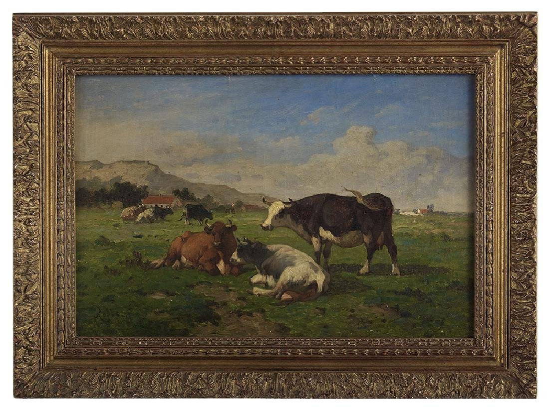 Louis Robbe, (Belgian, 1806-1887)