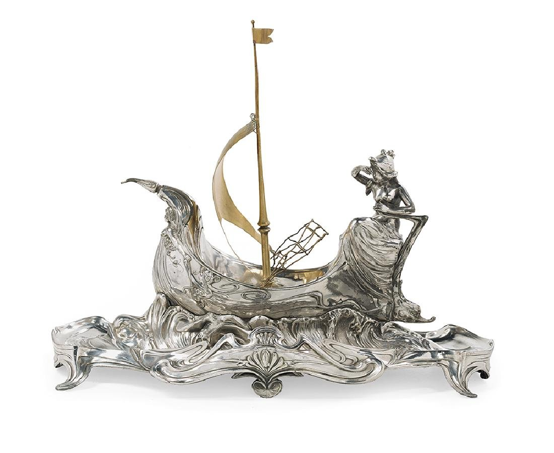 Austro-Hungarian Silverplate Centerpiece