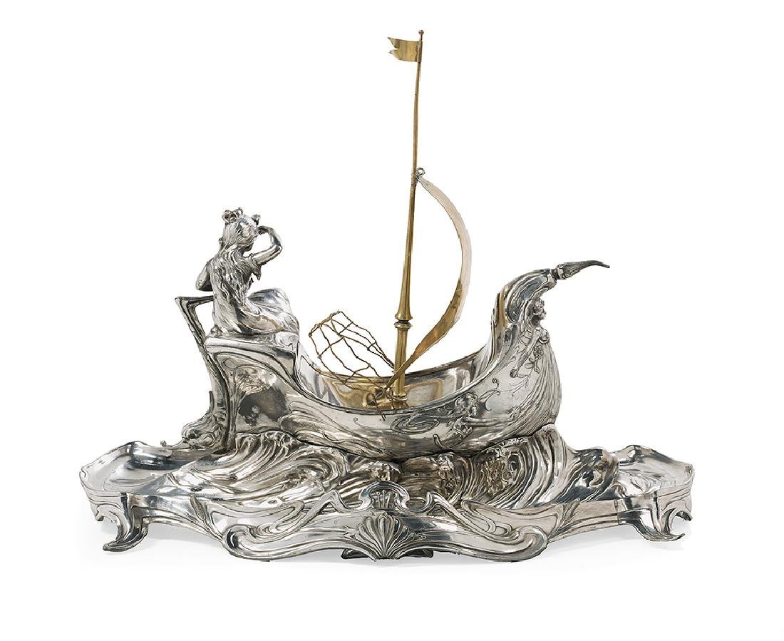 Austro-Hungarian Silverplate Centerpiece - 2