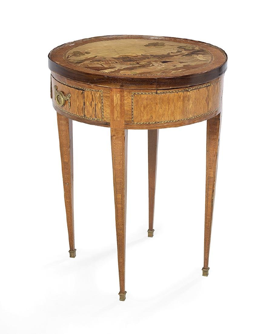 Northern Italian Mixed Woods Center Table