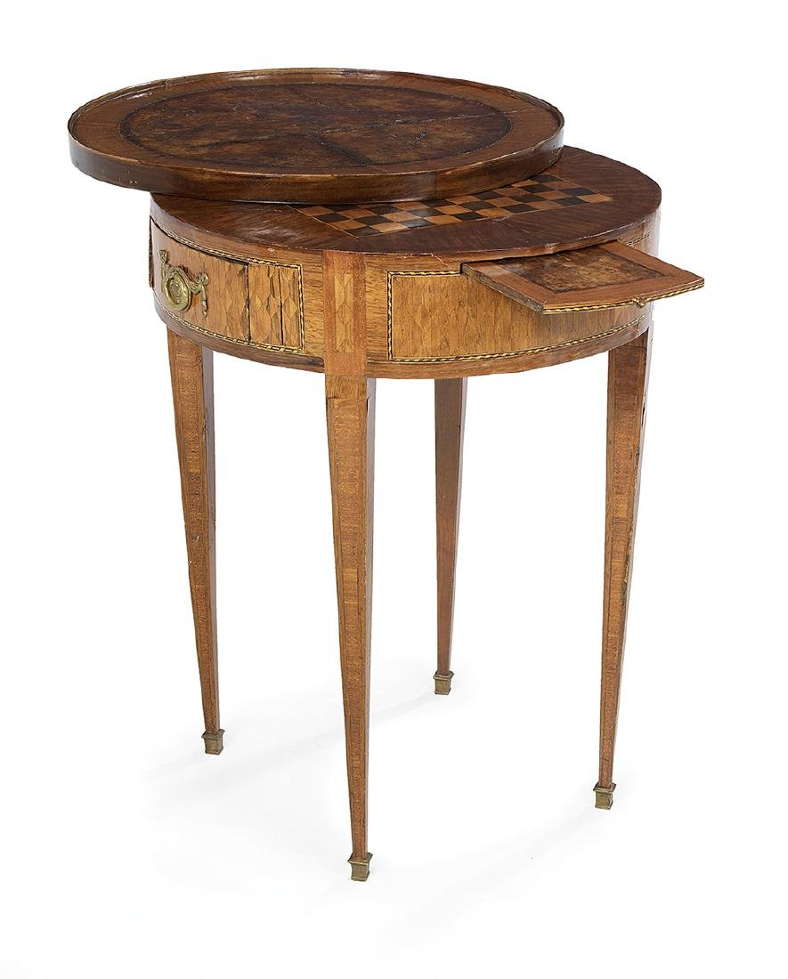 Northern Italian Mixed Woods Center Table - 2