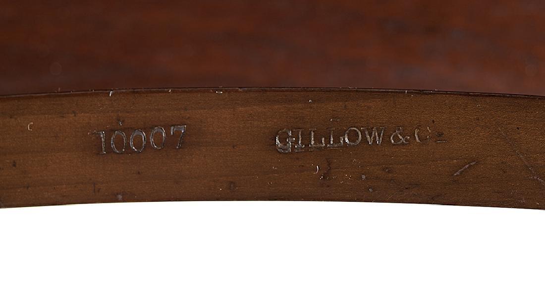 Edwardian Mahogany and Burl Writing Table - 4
