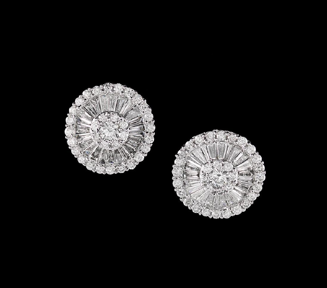 Beautiful Diamond Earrings