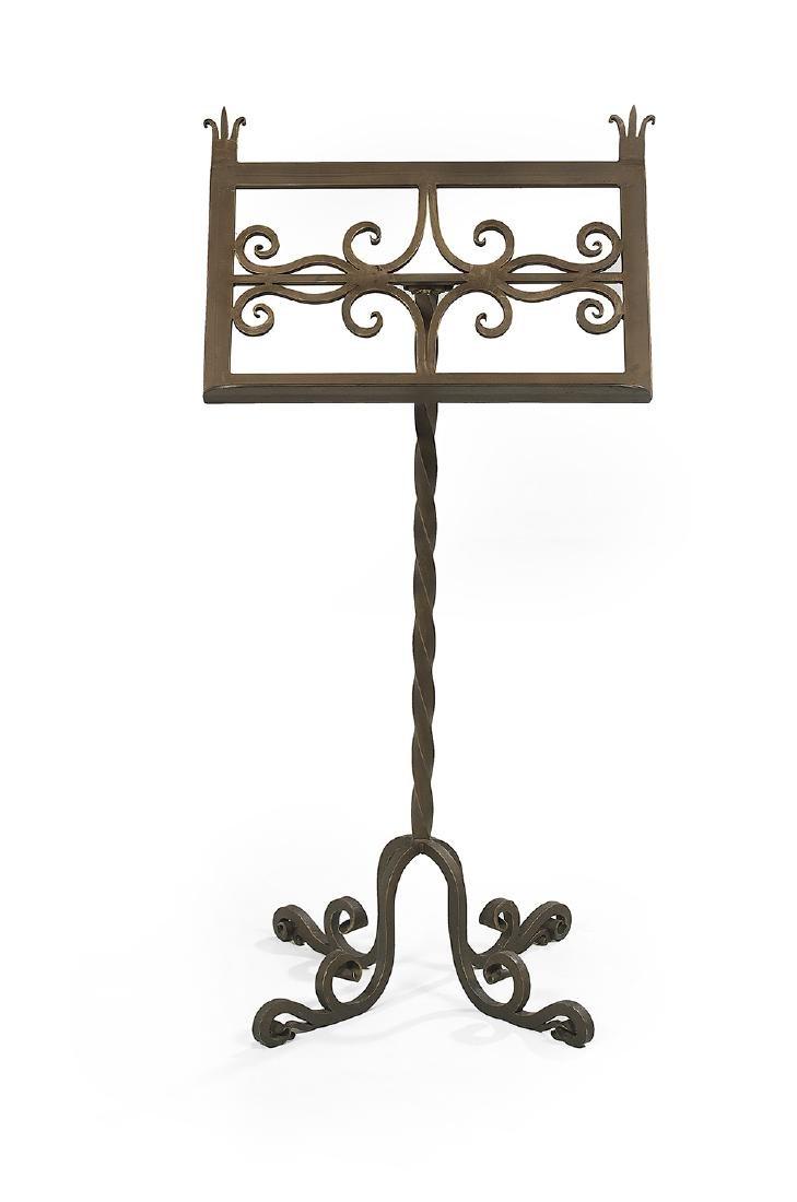 Contemporary Bronze Music/Book Stand