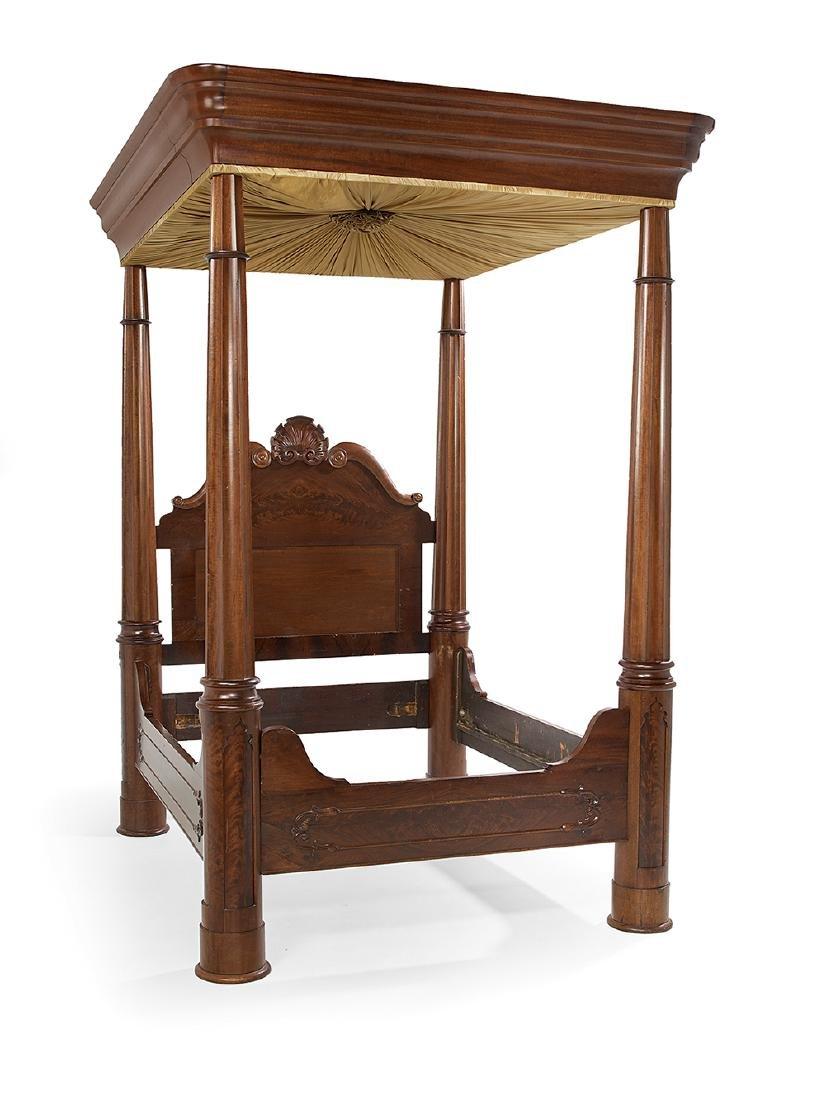 Fine Mahogany Tester Bed