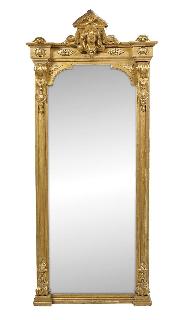 American Giltwood Pier Mirror
