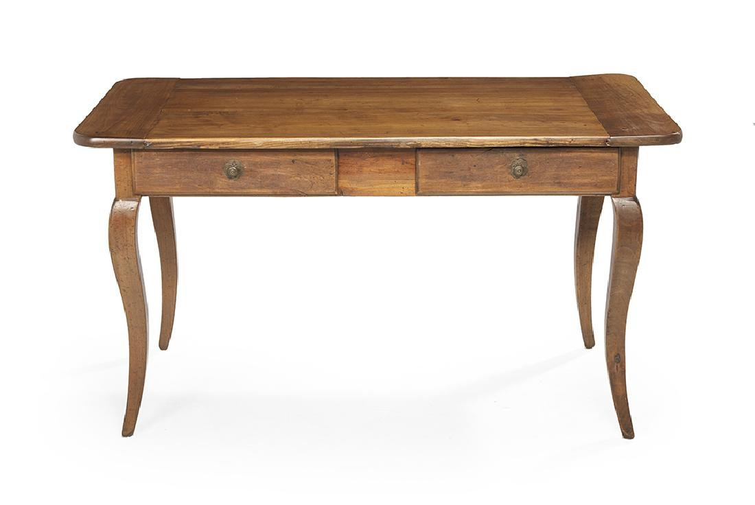 French Provincial Fruitwood Table