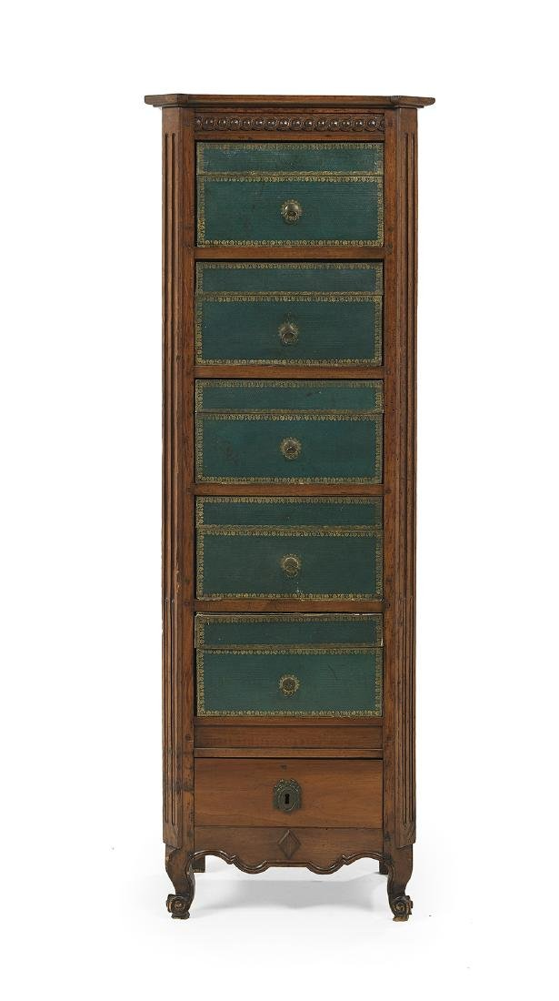 French Provincial-Style Lingerie Chest