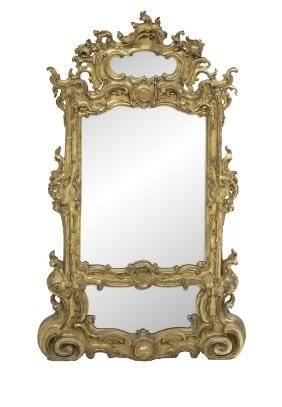 Continental Giltwood Pier Mirror