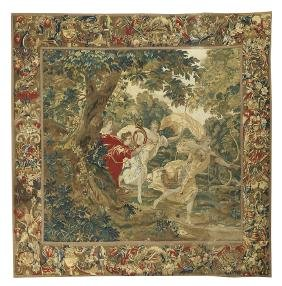Brussels Tapestry Of Diana La Chasseuse