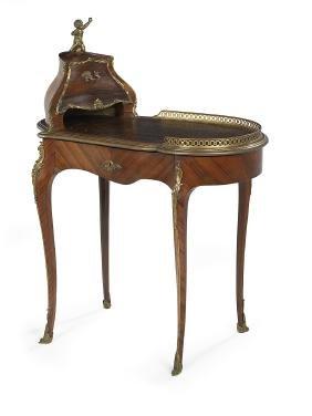 Louis Xv-style Kingwood Writing Table