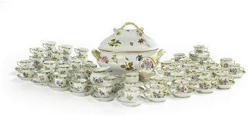Collection of Herend Dinnerware