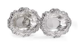"Pair of ""Francis I"" Sterling Vegetable Dishes"