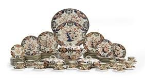 Royal Crown Derby Pottery Dinner Service