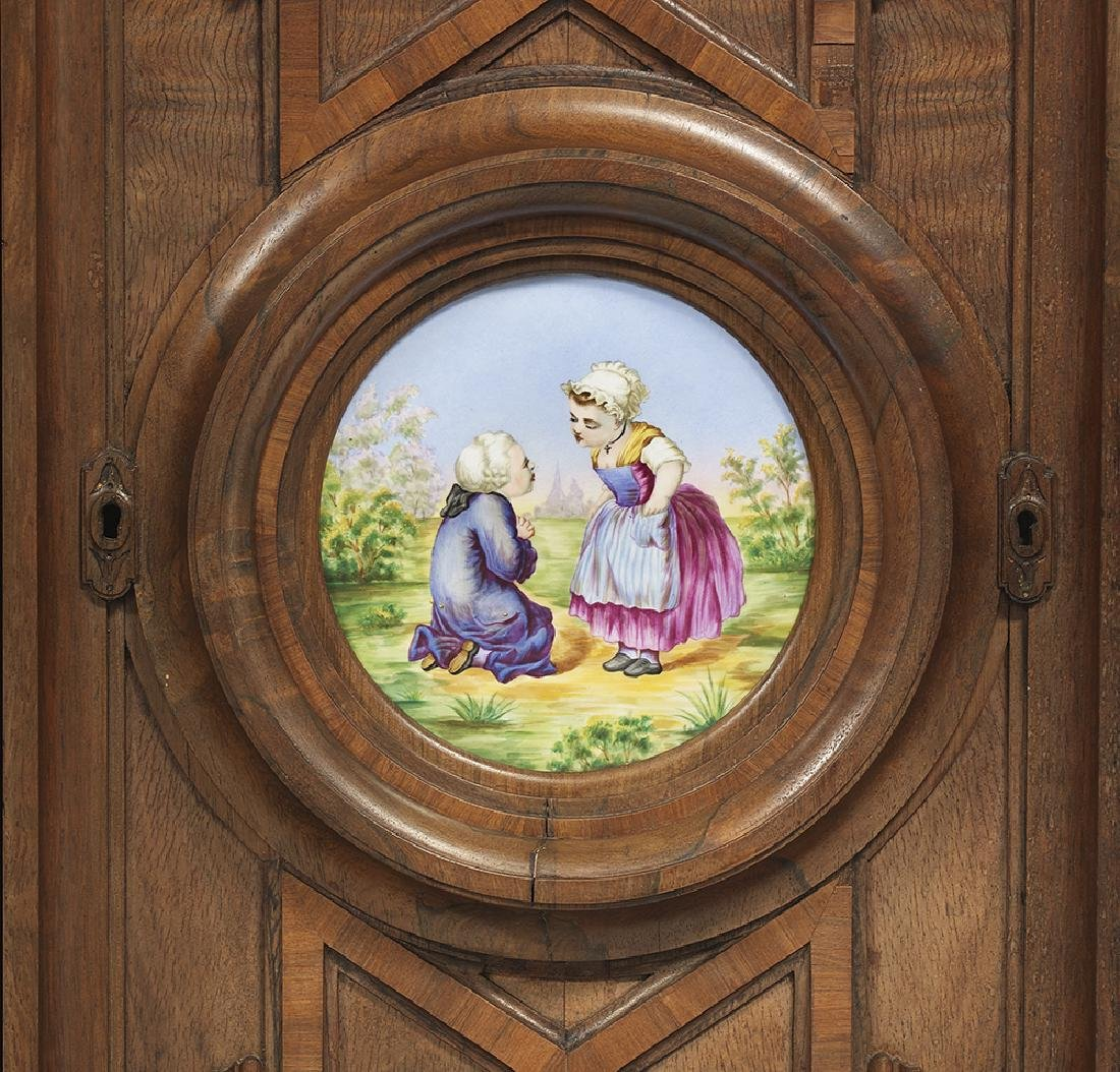 Renaissance Revival Rosewood Cabinet - 3